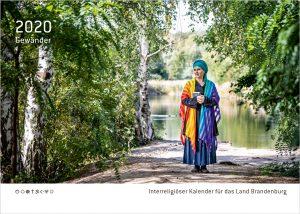 Interreligiöser Kalender für das Land Brandenburg 2020 - Titelblatt