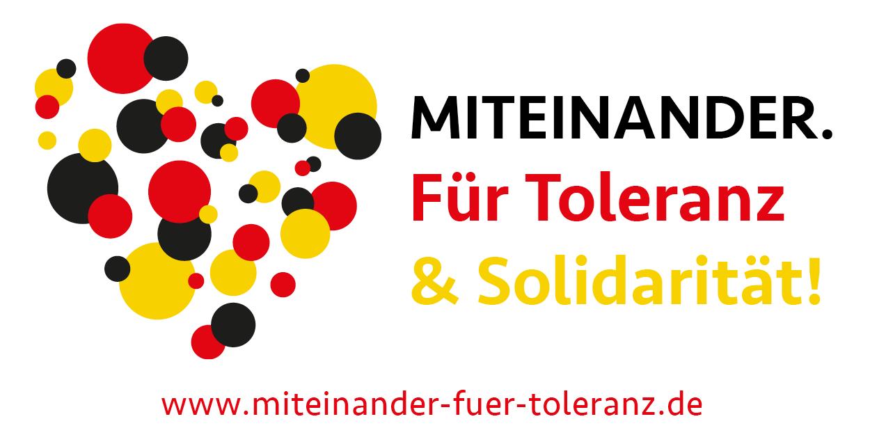 Miteinander. Für Toleranz & Solidarität!